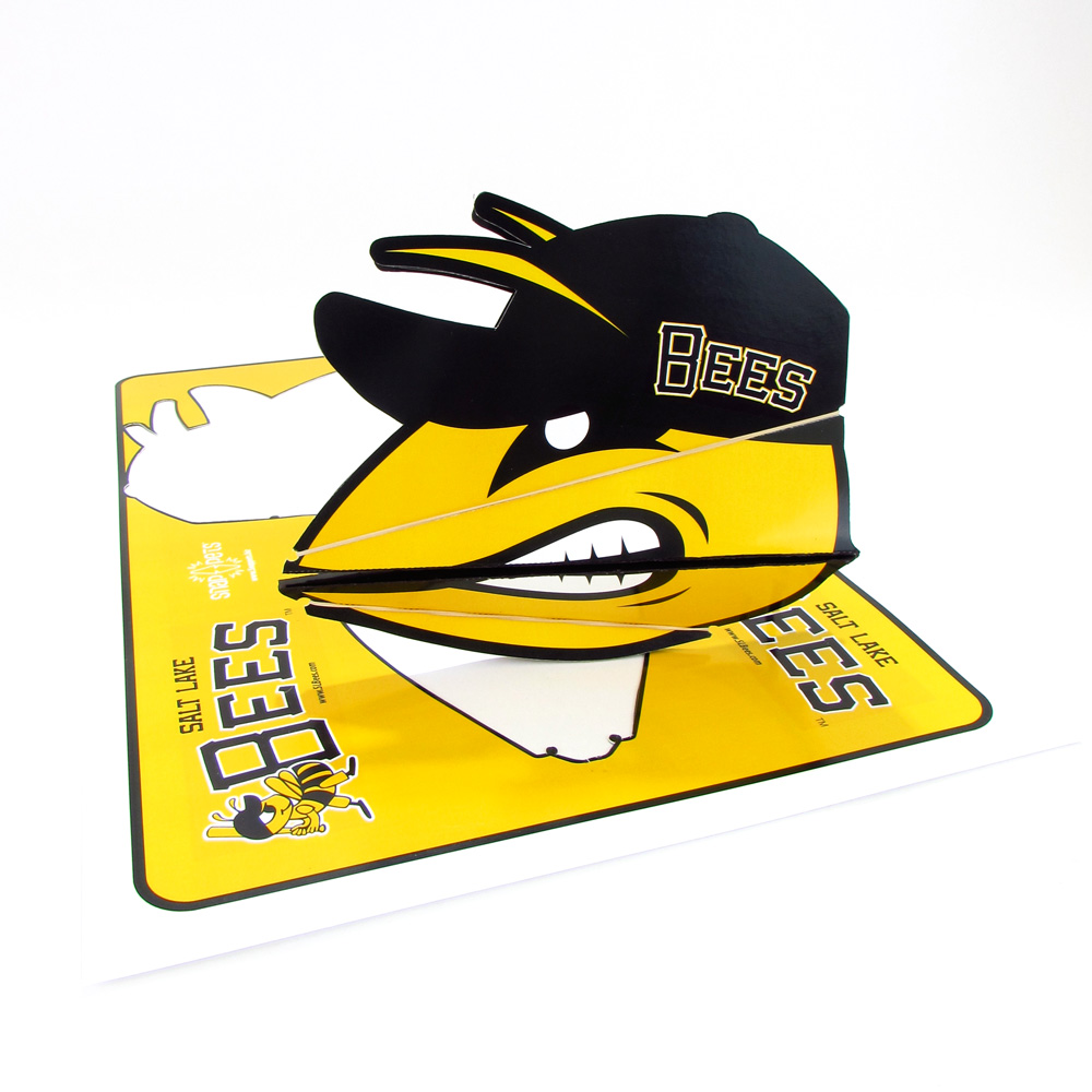 Concept Snappet for Salt Lake Bees Baseball.  Click to view larger.