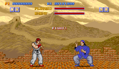 Let's face it: the original Street Fighter has aged horribly. Not recommended except as a historical oddity.