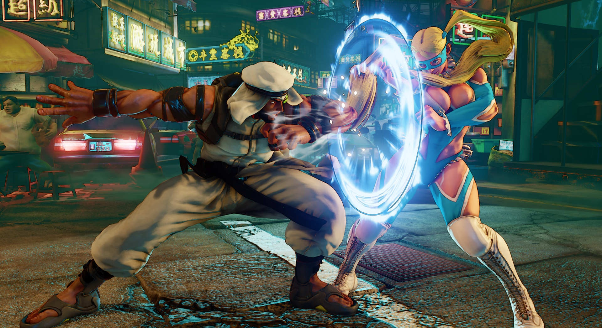 While lacking in gameplay modes, Street Fighter V is a wonderfully playing release in the series. Showing off my favorite character there: Rashid!