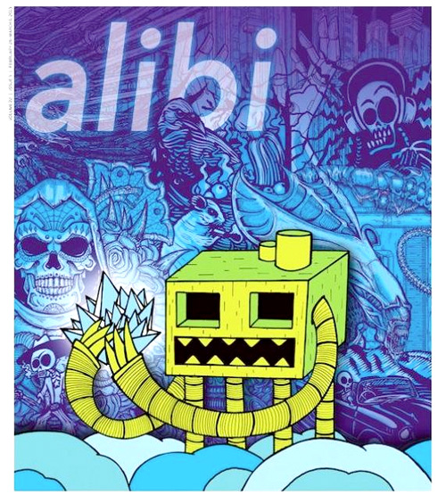 Weekly alibi cover
