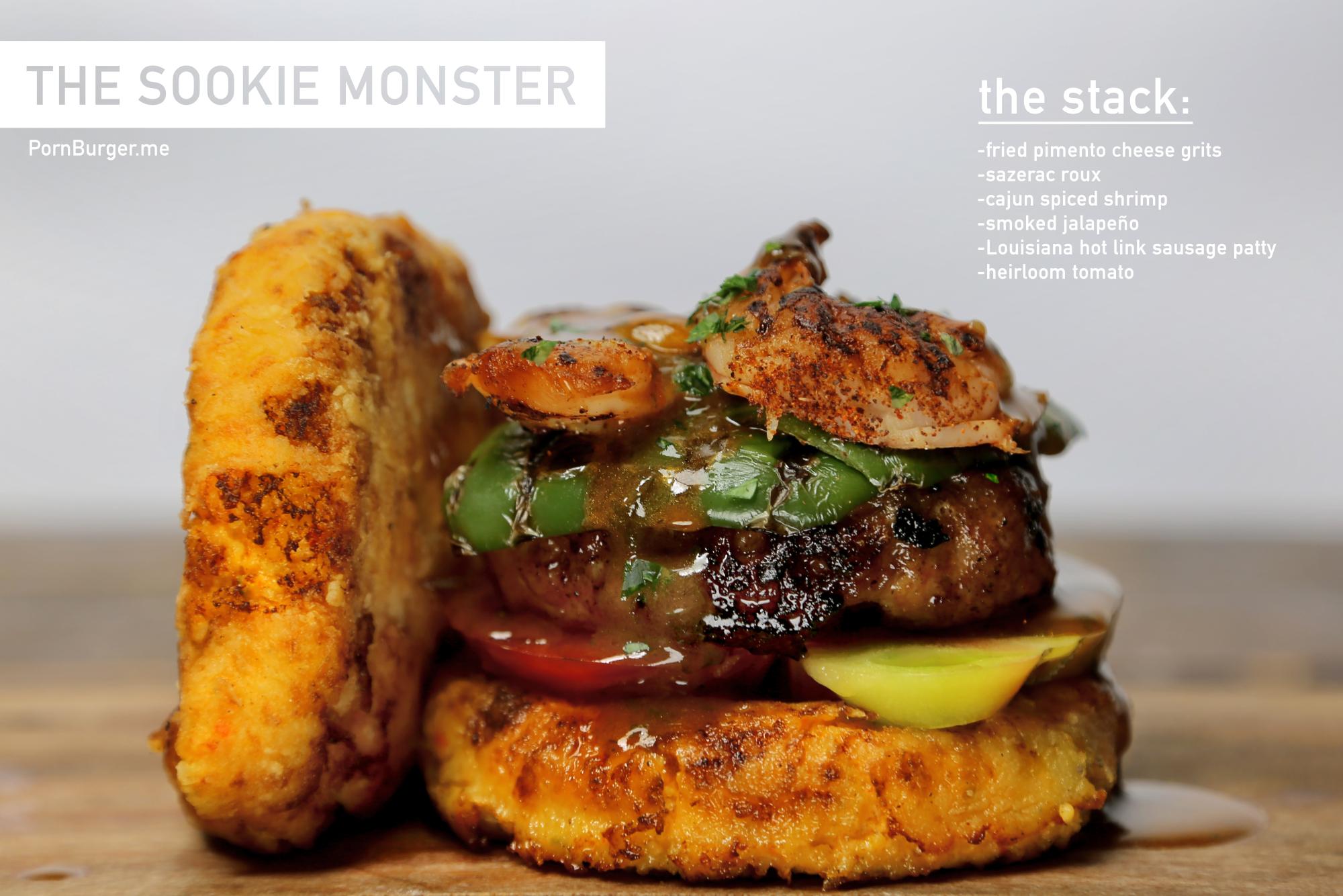 The Sookie Monster Burger.