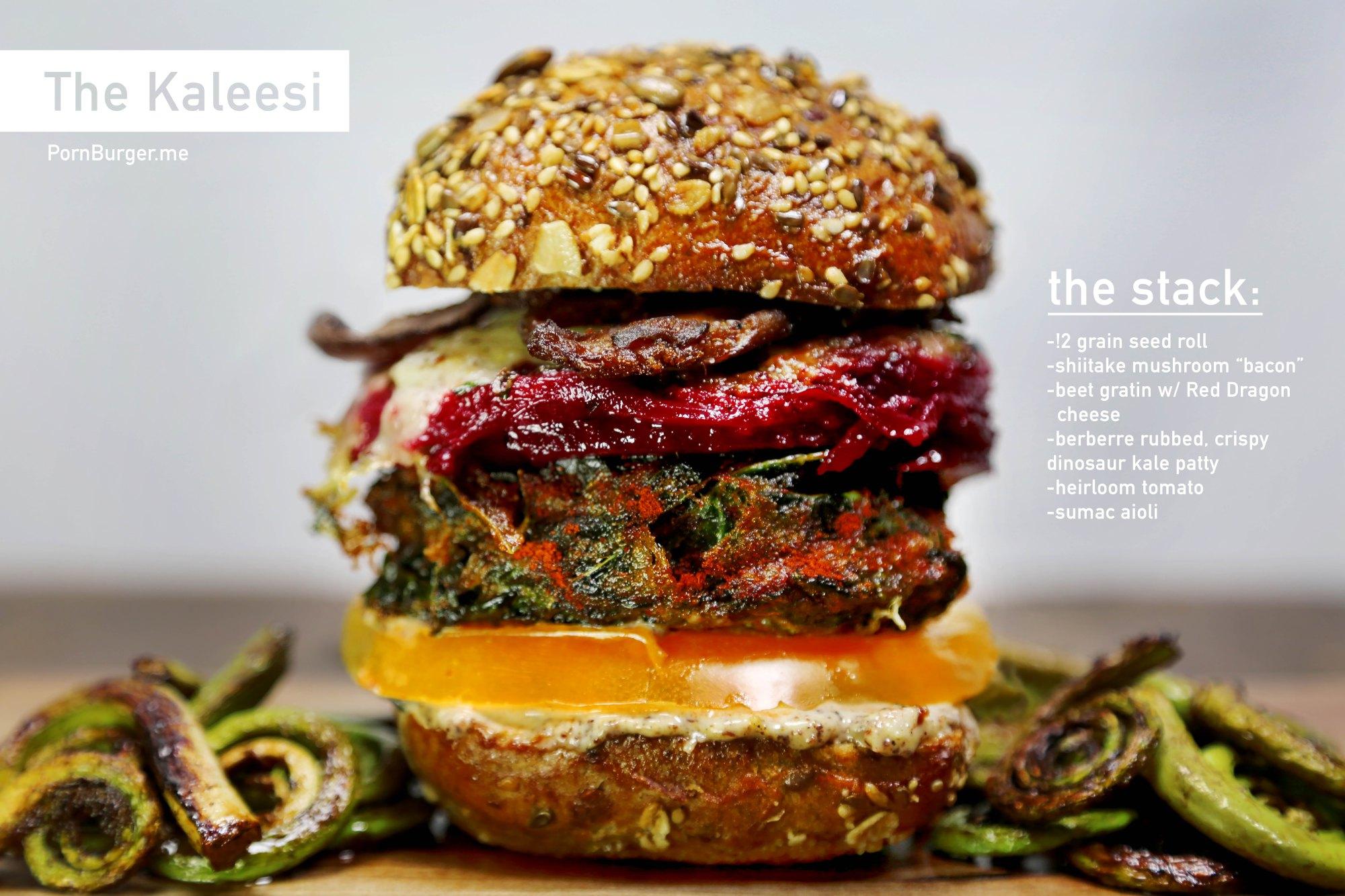 The Kaleesi Burger.