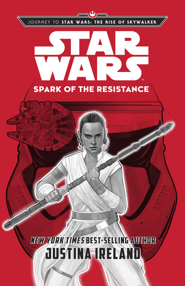 Spark of the Resistance - When a distress plea goes up from the isolated planet Minfar, Resistance heroes Rey, Poe and Rose hear the call! Together they will face down a First Order battalion, terrifying flying creatures, and a weapon that could change the course of the war!