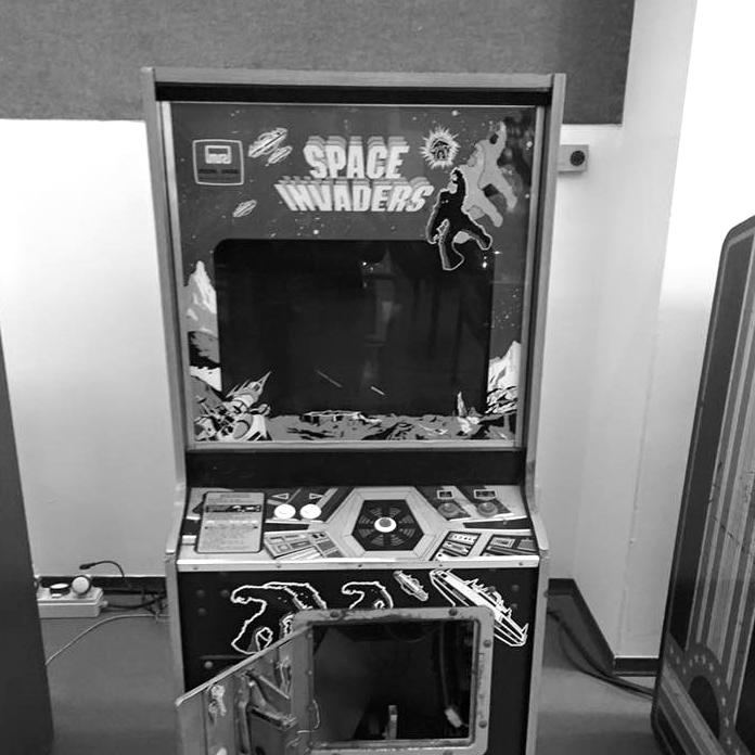 Retro Campus Videogames