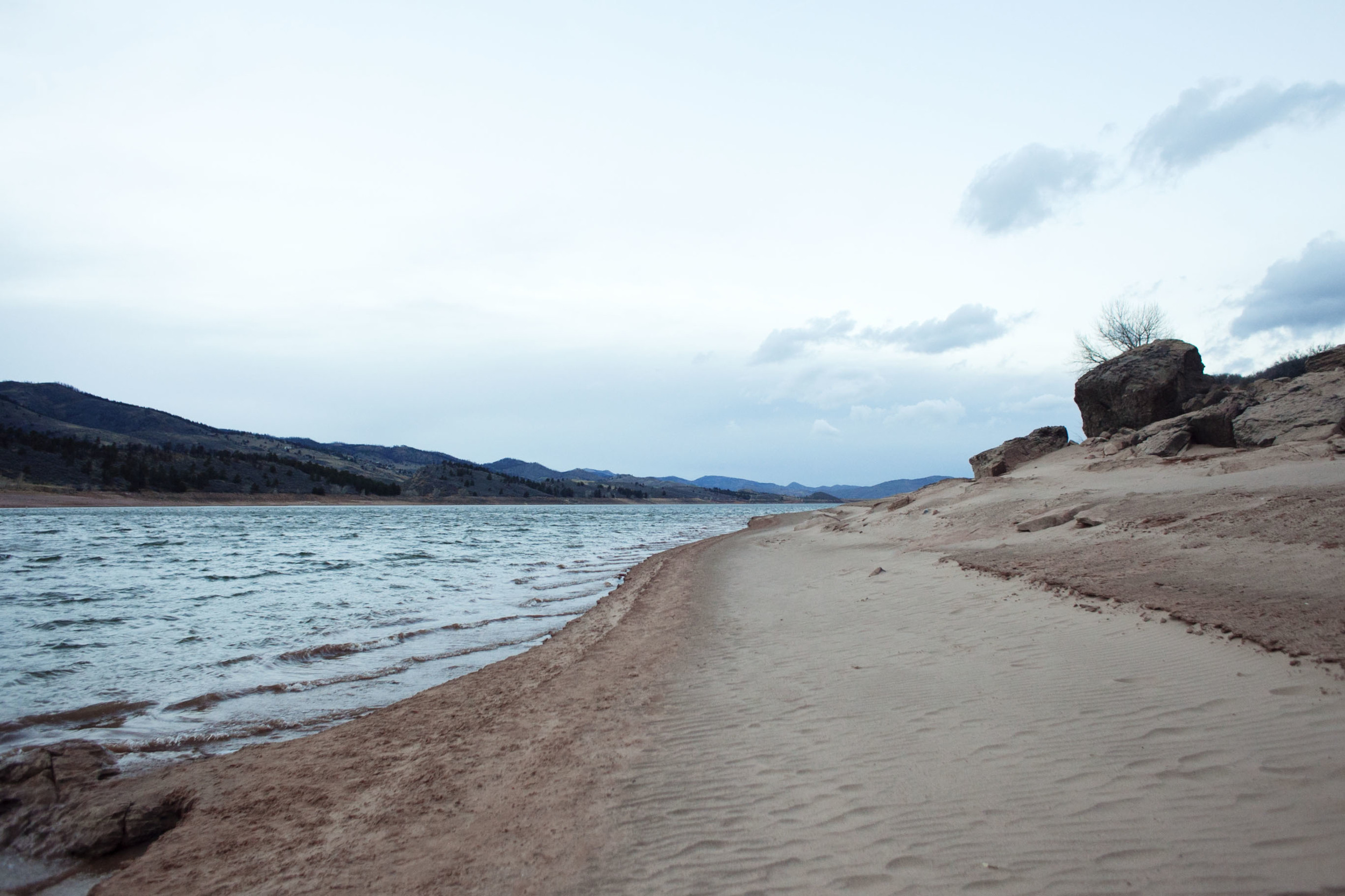 Horsetooth Reservoir, one of my favourite spots to run