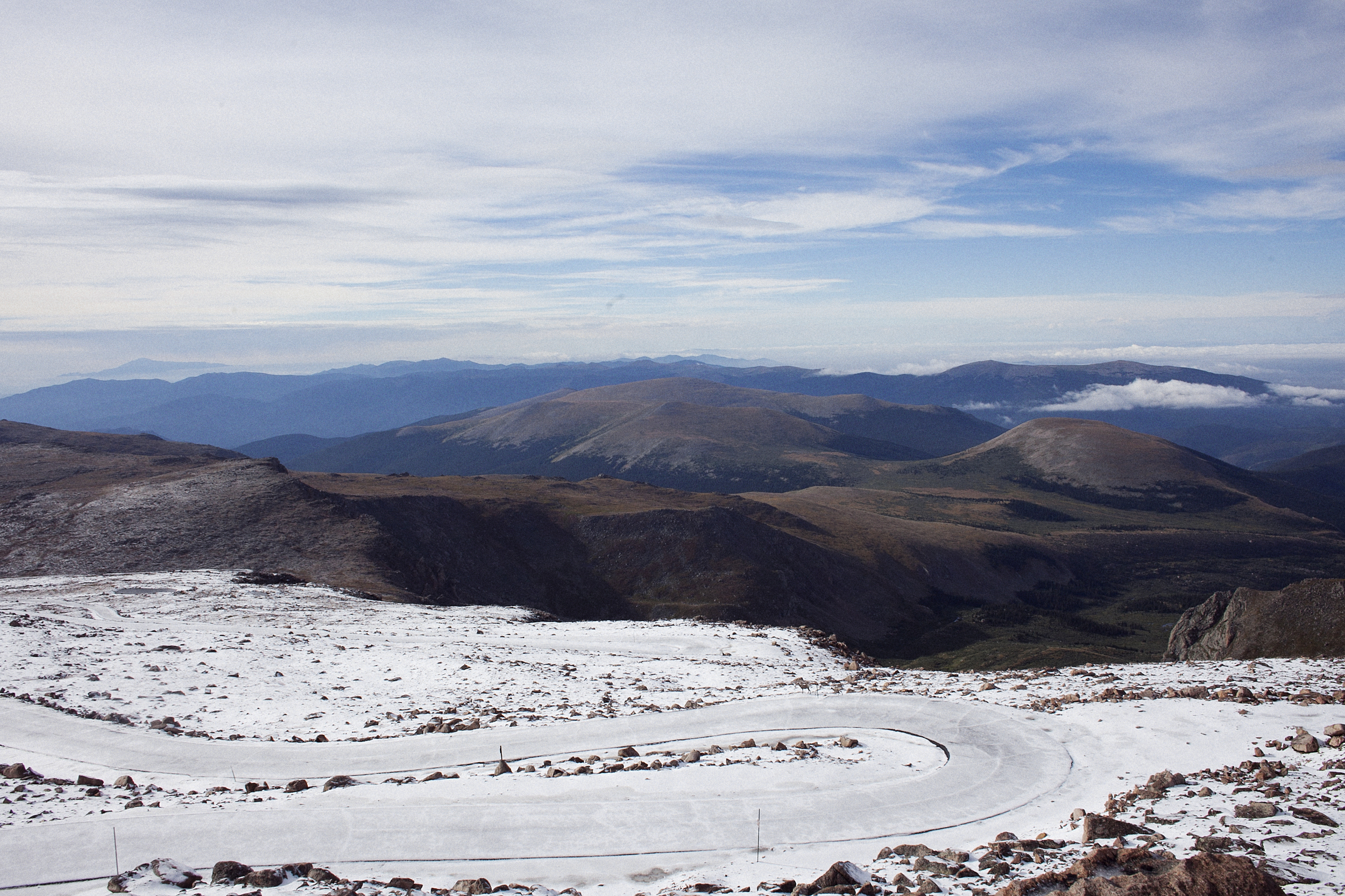 One of the friendlier patches of Mt Evans Rd
