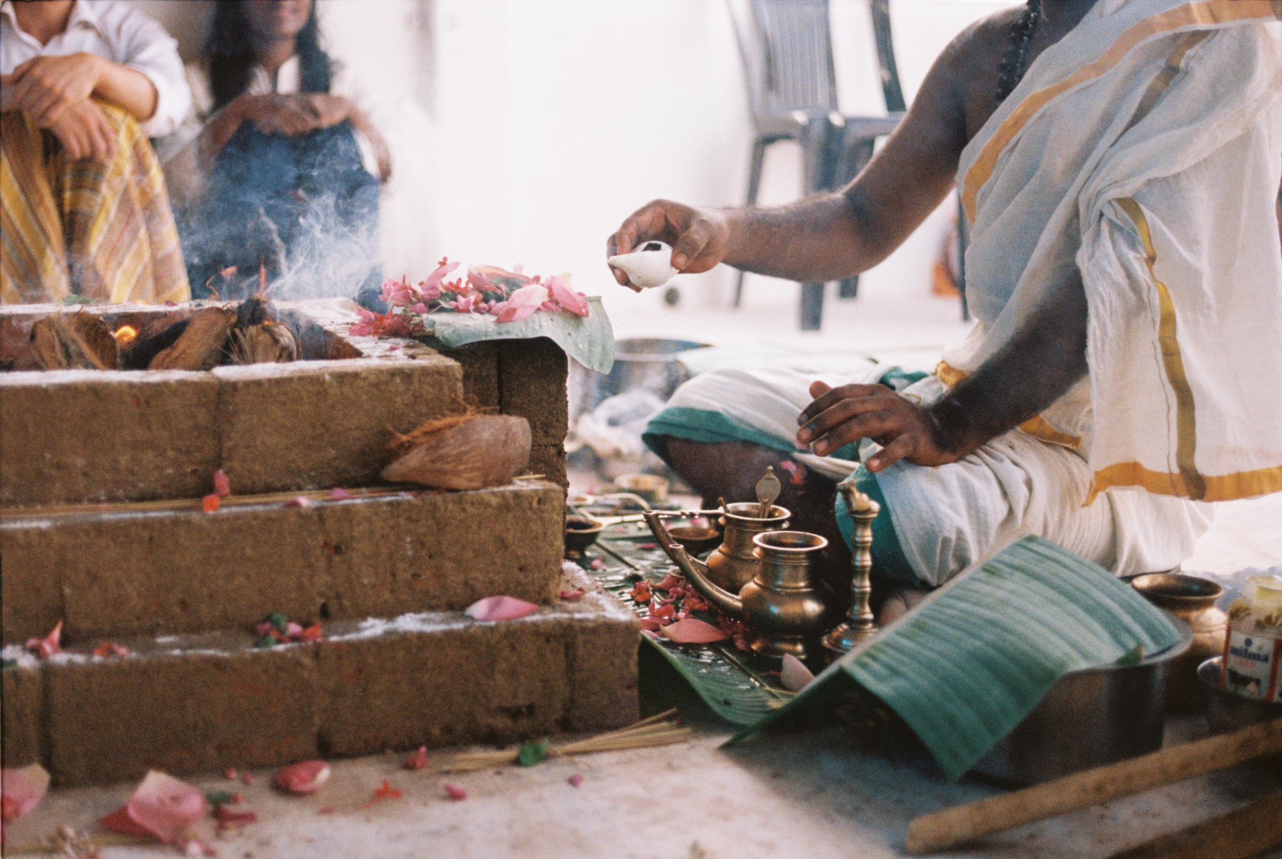 Puja. India
