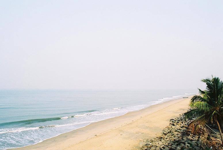 Beach. Kerala