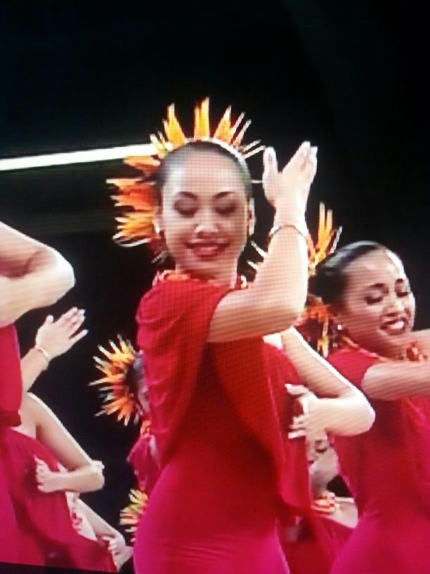 Fast forward to April 5-6, 2013 and Kamalei competes in her third consecutive Merrie Monarch Hula Competition.