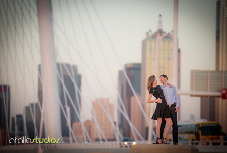 I love it when clients aren't afraid to climb a wall and stand on it to create the perfect photo opportunity.