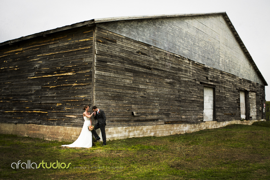 Capturing a moment in front of an old warehouse that had so much character.