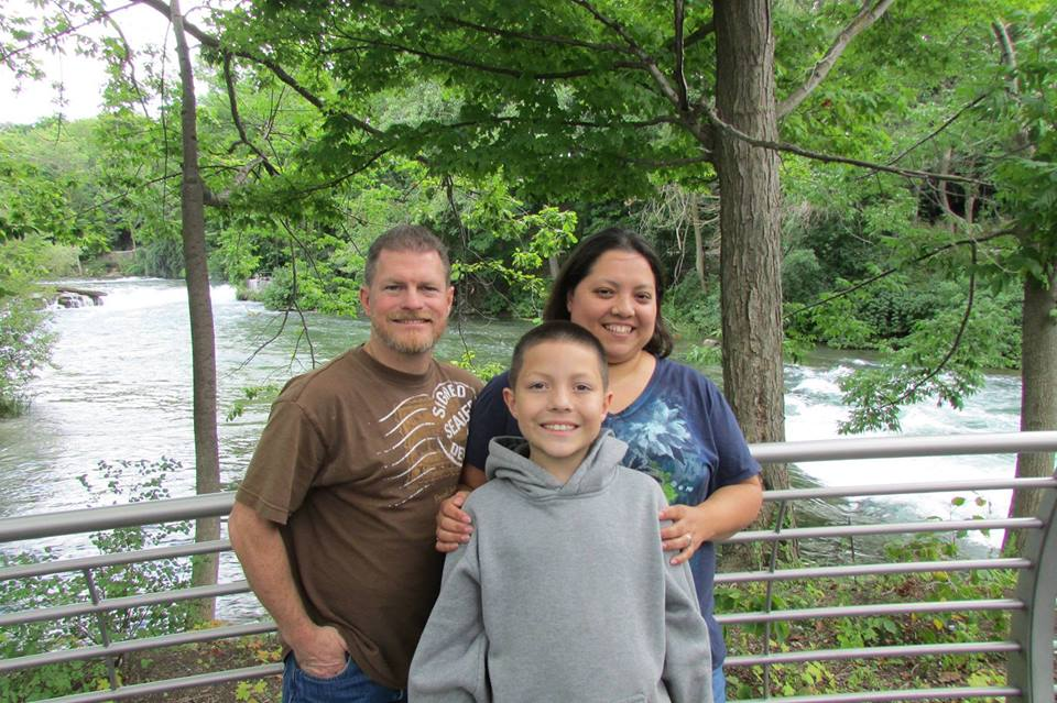 Missionary Chris Trueworthy and his family. They are missionaries to Mexico with World Indigenous Missions.