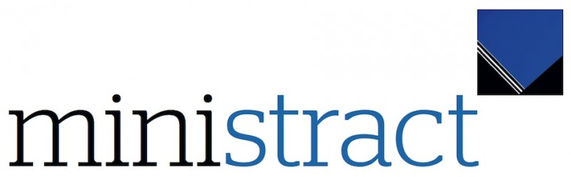 One of the rejected designs for the ministract logo