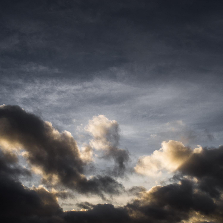 Thunderous skies above Teesdale