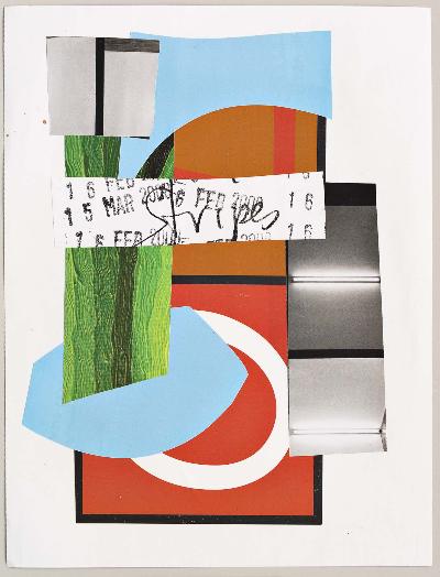 "springtime 2011 collage 9""x12"""