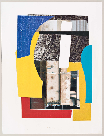 """shape it up 2011 collage 9""""x12"""""""