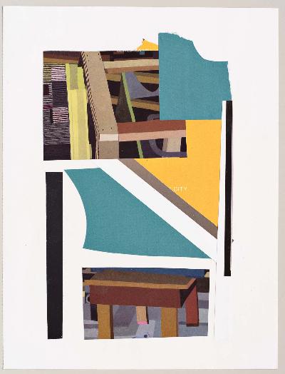 "furniture 2011 collage 9""x12"""