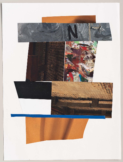 """n 2011 collage 9""""x12"""""""