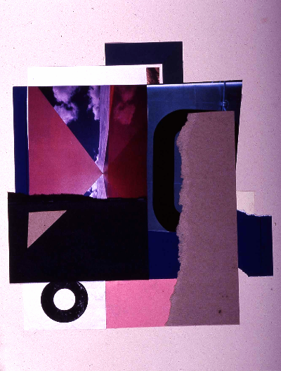 """point of contact 1991 collage 18""""24"""""""