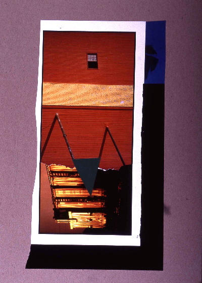 "train wreck 1991 collage 18""24"""