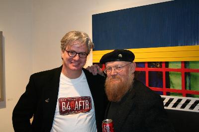 artist with Jim Leedy 2006