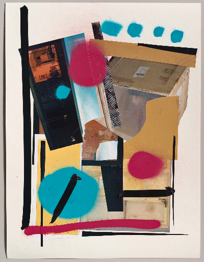 collage 6. 2012 mixed media