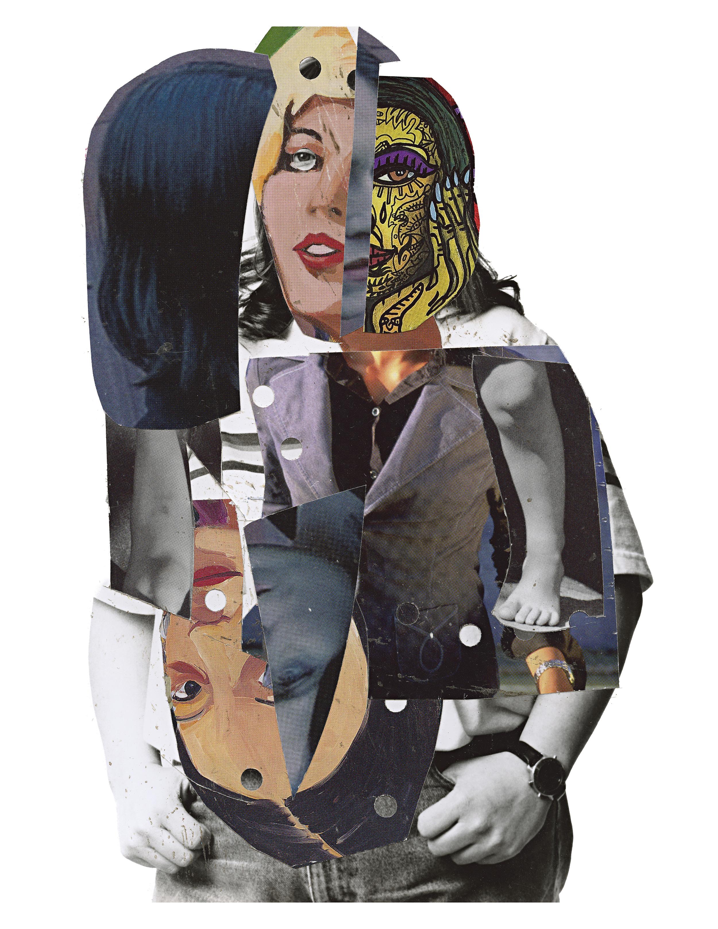 """betty  8""""x10"""" digital print 2014"""