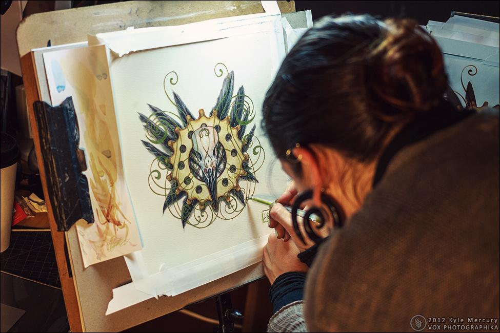 Projects: Artist Spaces - Studio Umbralux