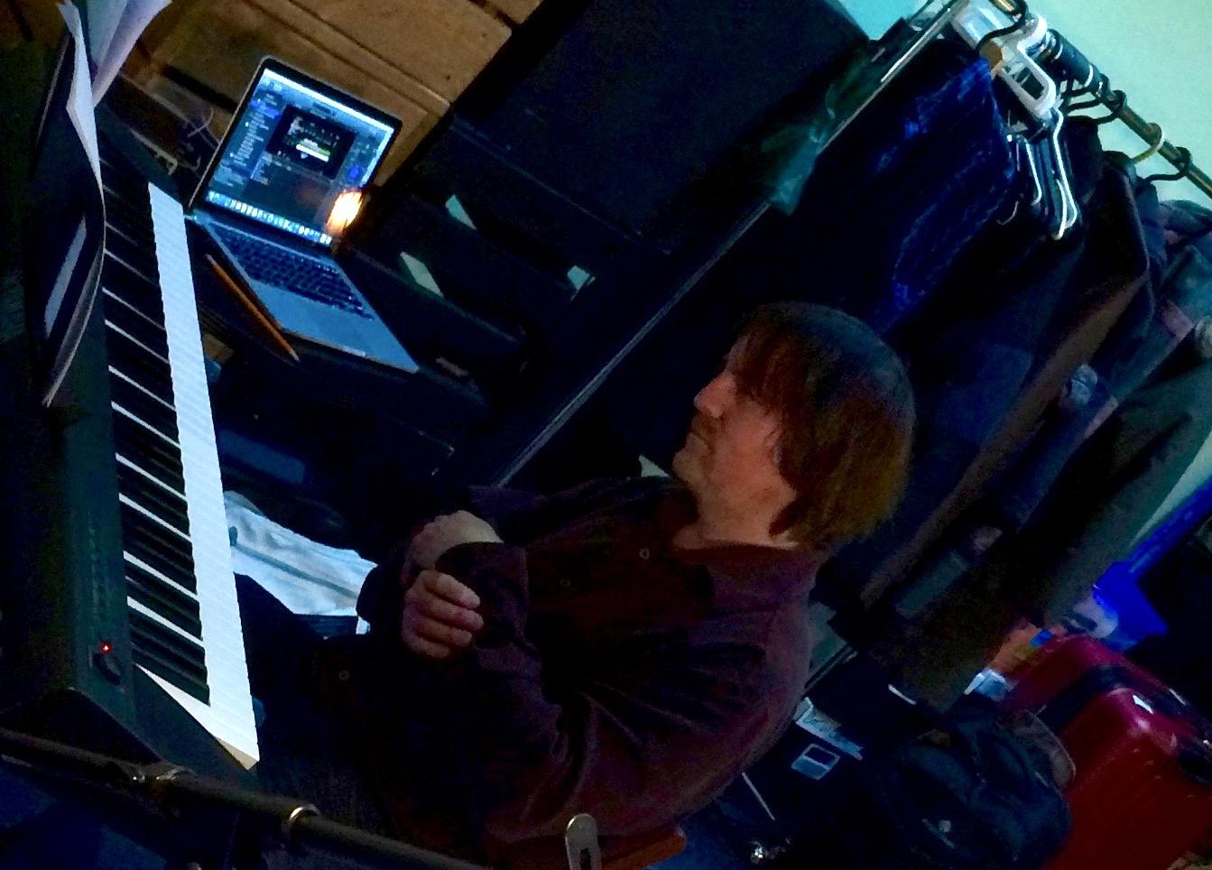 Matthew Reid in rehearsal. Photo: Jacob Zimmer