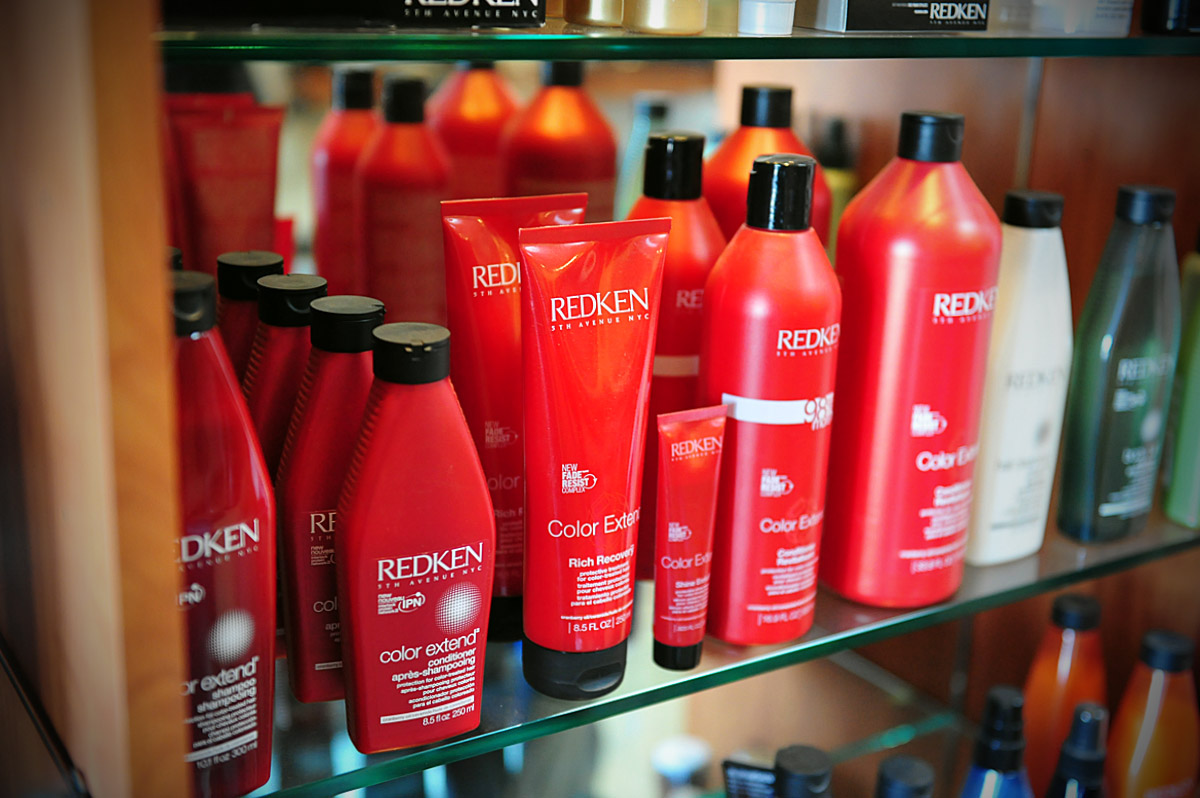 Salon Industry uses only top quality products that their seasoned stylists demand.