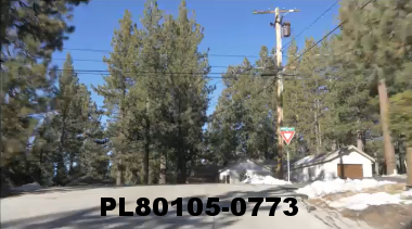 Vimeo clip HD & 4k Driving Plates Big Bear, CA PL80105-0773