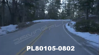 Vimeo clip HD & 4k Driving Plates Big Bear, CA PL80105-0802