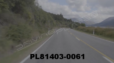 Vimeo clip HD & 4k Driving Plates Lake Wakatipu, New Zealand PL81403-0061