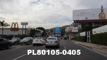 Vimeo clip HD & 4k Driving Plates Los Angeles, CA PL80105-0405