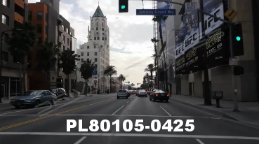Vimeo clip HD & 4k Driving Plates Los Angeles, CA PL80105-0425