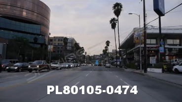 Vimeo clip HD & 4k Driving Plates Los Angeles, CA PL80105-0474