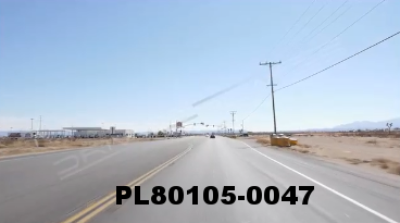 Vimeo clip HD & 4k Driving Plates Mojave Desert, CA PL80105-0047
