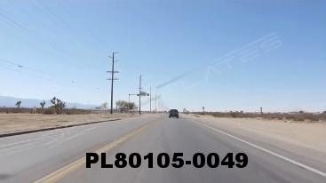 Vimeo clip HD & 4k Driving Plates Mojave Desert, CA PL80105-0049