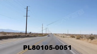 Vimeo clip HD & 4k Driving Plates Mojave Desert, CA PL80105-0051