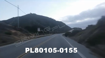 Vimeo clip HD & 4k Driving Plates Pacific Coast Highway, CA PL80105-0155