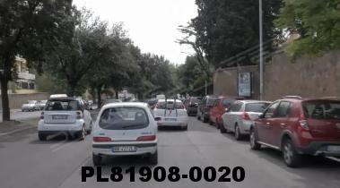 Vimeo clip HD & 4k Driving Plates Rome, Italy PL81908-0020
