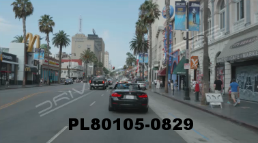 Vimeo clip HD & 4k Driving Plates Los Angeles, CA PL80105-0829
