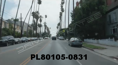 Vimeo clip HD & 4k Driving Plates Los Angeles, CA PL80105-0831