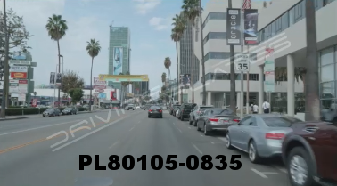 Vimeo clip HD & 4k Driving Plates Los Angeles, CA PL80105-0835