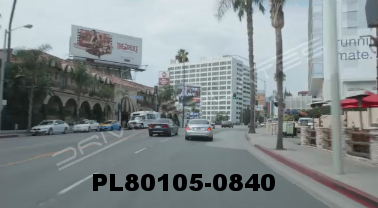 Vimeo clip HD & 4k Driving Plates Los Angeles, CA PL80105-0840
