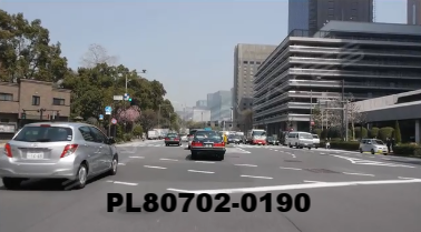 Vimeo clip HD & 4k Driving Plates Tokyo, Japan PL80702-0190