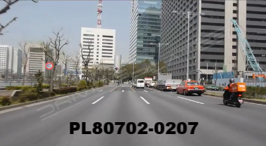 Vimeo clip HD & 4k Driving Plates Tokyo, Japan PL80702-0207