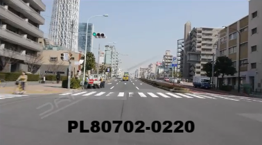 Vimeo clip HD & 4k Driving Plates Tokyo, Japan PL80702-0220