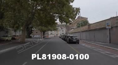 Vimeo clip HD & 4k Driving Plates Rome, Italy PL81908-0100