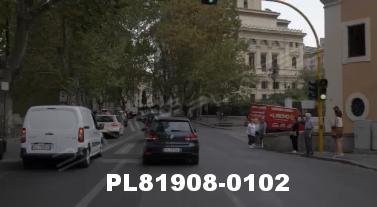 Vimeo clip HD & 4k Driving Plates Rome, Italy PL81908-0102